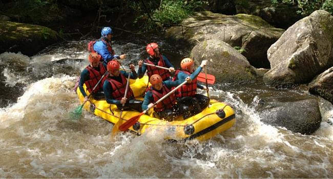 Rafting Lac de Chaumeçon