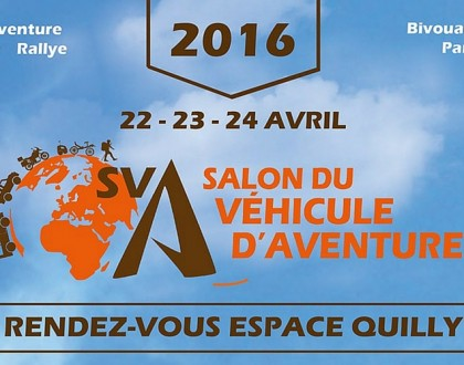 Salon du véhicule d'aventure 2016