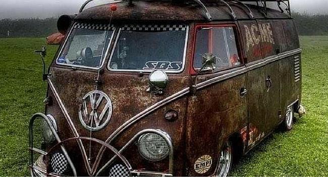 Combi VW rouille