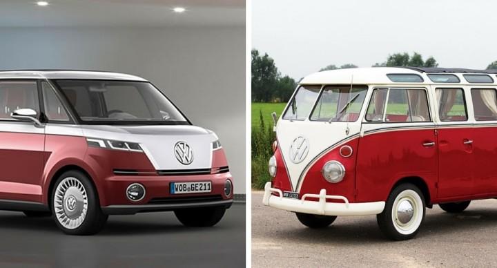 Le combi VW dans tous ces etats