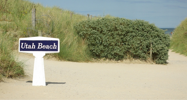 Utah Beach Cotentin camping-car