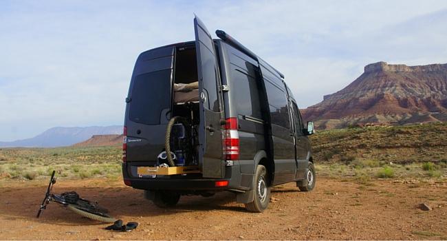 Velo et camping-car  la liberté !