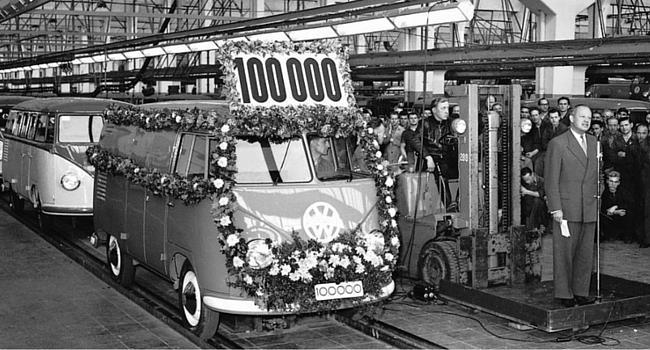 le 100 000ème combi sort de l'usine de Wolfsburg
