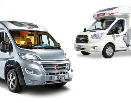 Les nouveaux camping-cars profilés