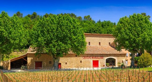 La route des vins de Provence en camping-car_Château-Margilieres-Brignoles