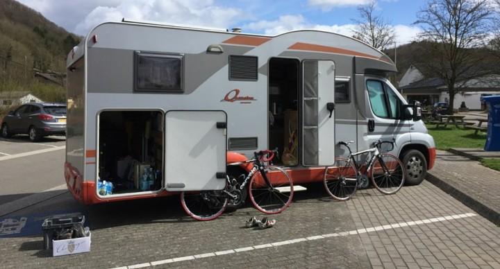 camping-car et évenements cyclo