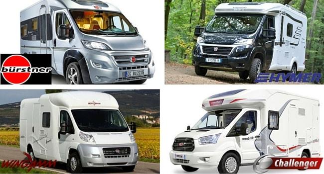 camping-car profilé compact
