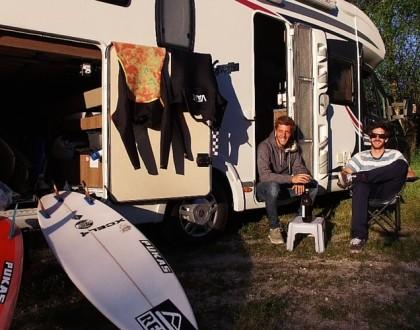#wikisurf surf trip en camping-car