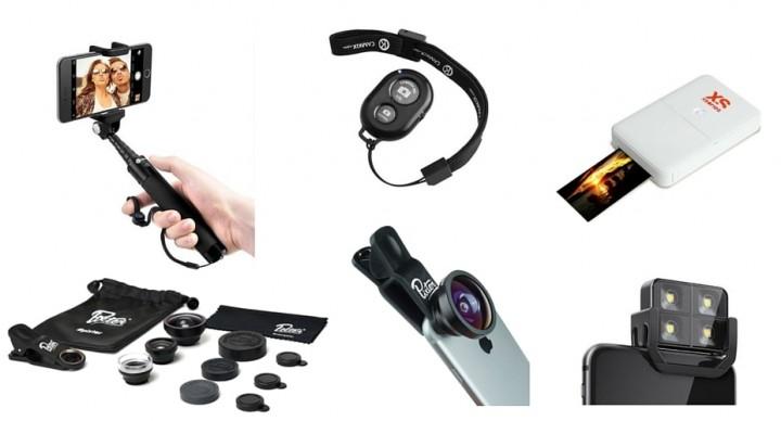 Accessoires pour vos photos smartphones