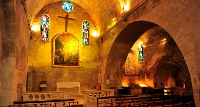 Eglise Saint Vincent les Baux de provence