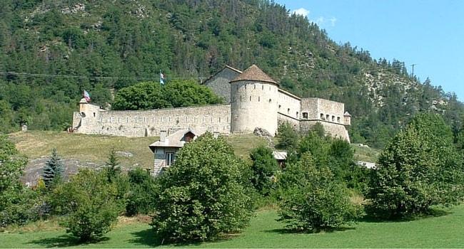 Fort de Savoie Colmars en campingcar