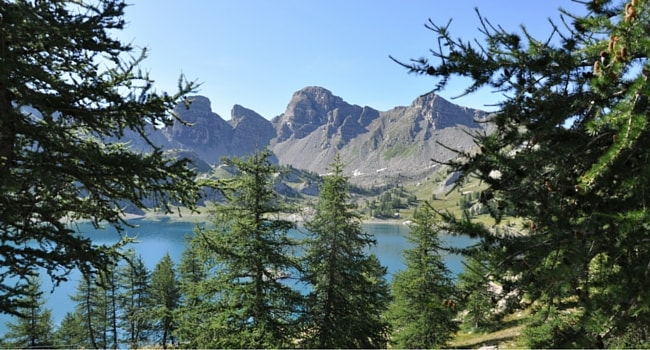 Lac d'Allos campingcar
