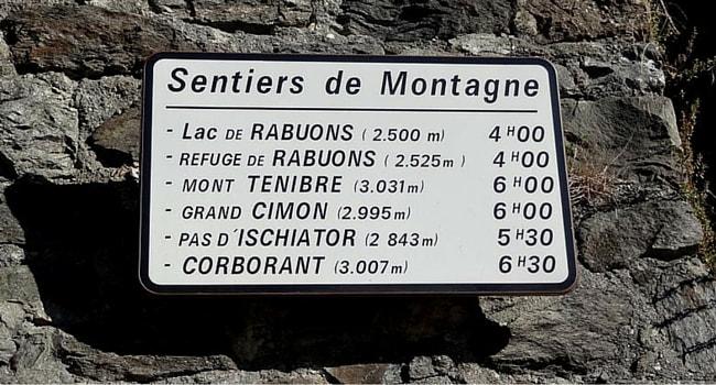Saint Etienne de Tinee randonee
