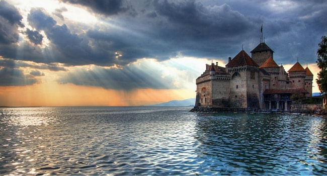chateau-chillon-lac-leman-Suisse