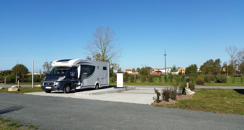 Le réseau des aires de CAMPING-CAR Park