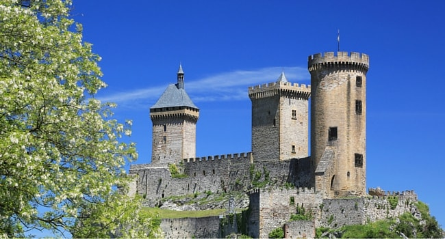 le chateau des comtes de Foix