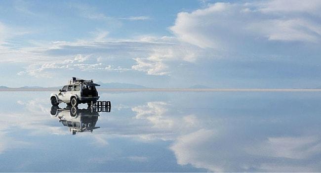 photo trompe l'oeil voiture amphibie