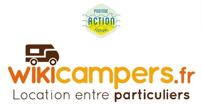 wikicampers positive action festival