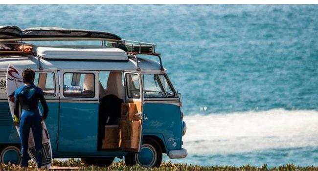surf-trip dans les Landes