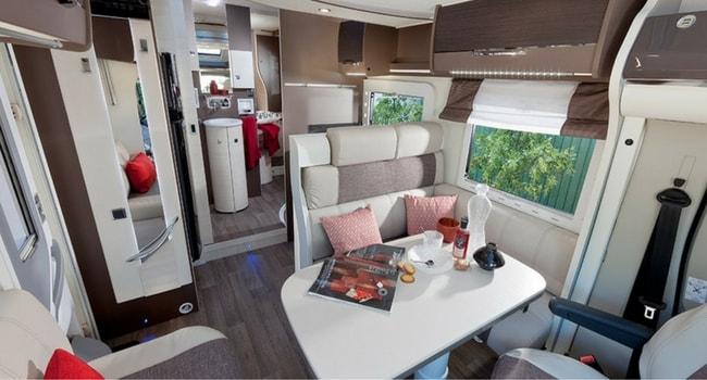 interieur camping-car profile