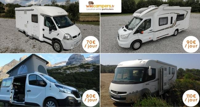 budget vacances en camping-car