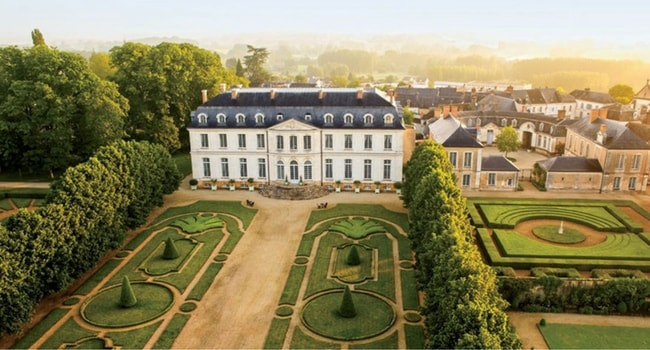 chateau-de-grand-luce-sarthe-en-camping-car