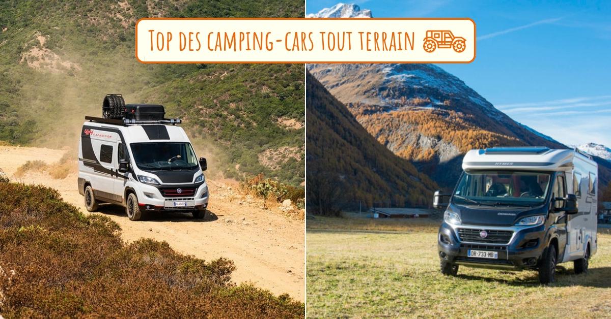 Le top des camping cars tout terrain pour partir à l'aventure !