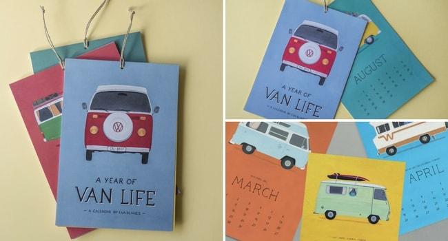 CalendrierVanlife2018_Idées-Cadeaux-camping-cars
