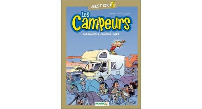 romans et bandes dessinées camping-car