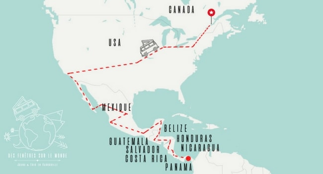Roadtrip Canada Etats Unis