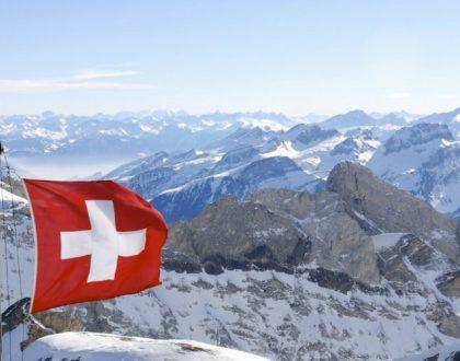 Suisse en Hiver en camping-car