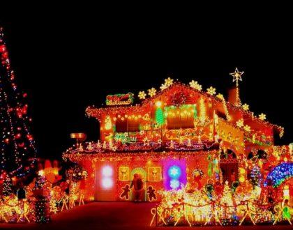Les plus belles décorations de Noël croisées sur les routes