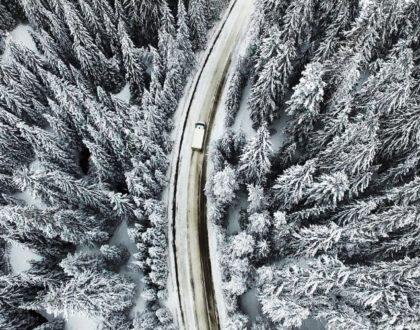 Conseils pour la conduite sur neige en camping-car