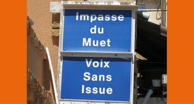 Panneaux routiers insolites 8