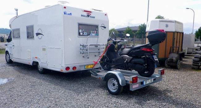 remorque pour camping-car