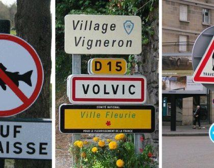 top 10 Panneaux routiers insolites