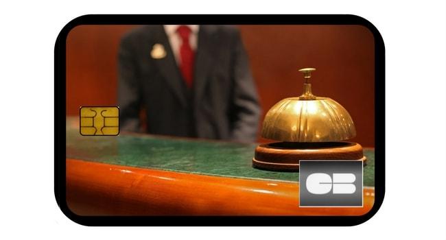 Conciergerie carte bancaire