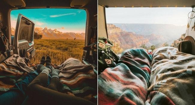 La Saint-Valentin en camping-car_Confort douillet