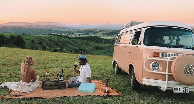 La Saint-Valentin en camping-car_Dîner romantique
