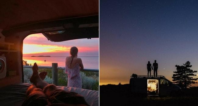 La Saint-Valentin en camping-car_Nuit
