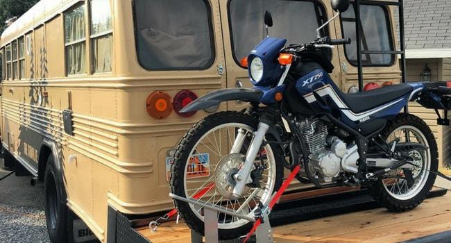 converted bus moto