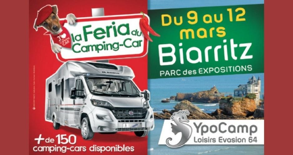 La Féria du camping-car de Biarritz (Mars 2017)