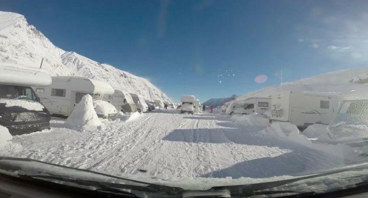 ski en camping-car TOP 5