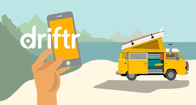 driftr app