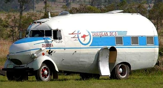 camping-car insolite