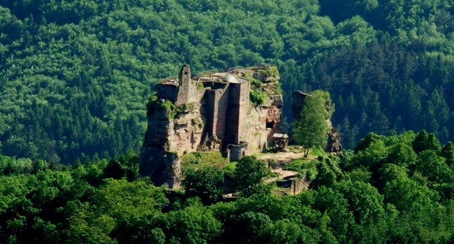 Chateau-fort-Fleckenstein