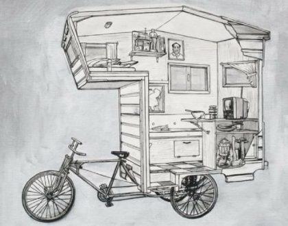 Les vélos camping-car !