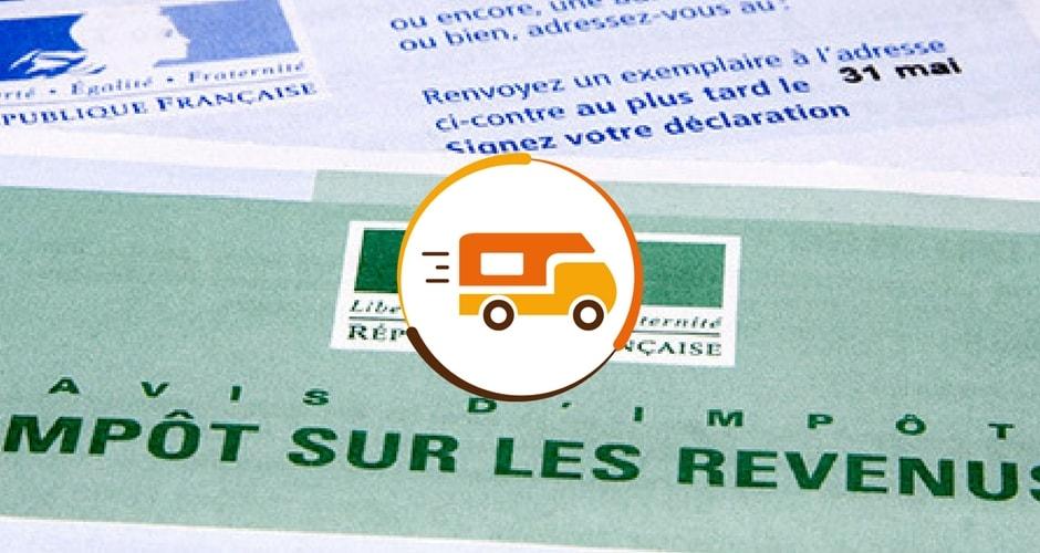 déclaration des revenus issus de la location de camping-car