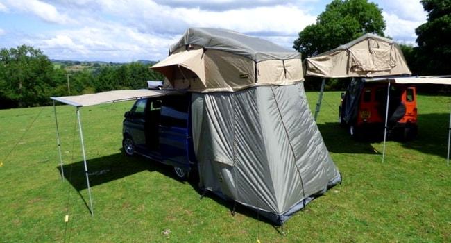 assurance tente de toit