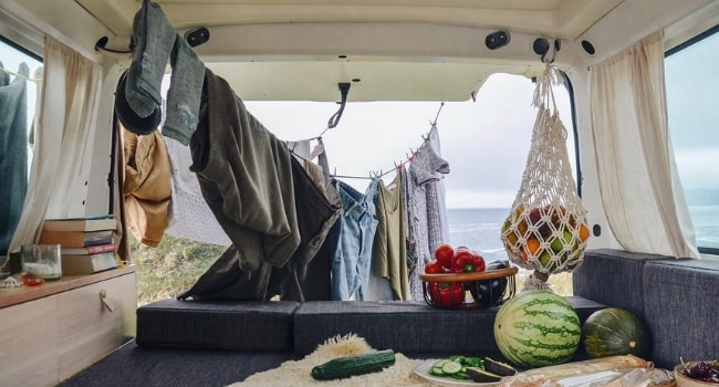 Laver son linge en camping-car_essorage